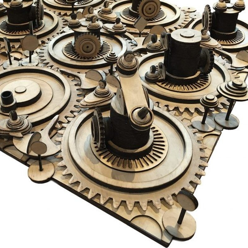 laser cutting project - gears made with laser cutter