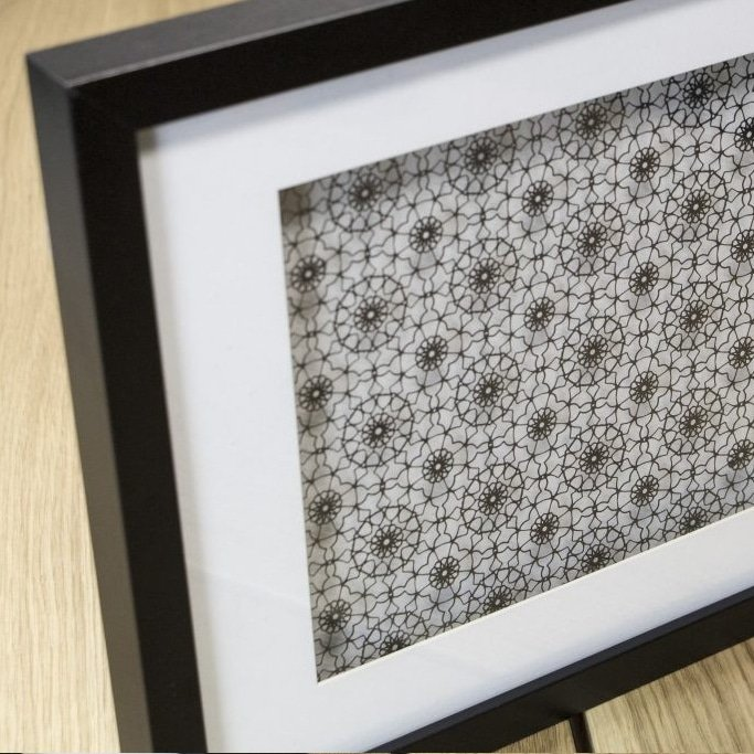 laser cutting project - picture frame made with laser cutter