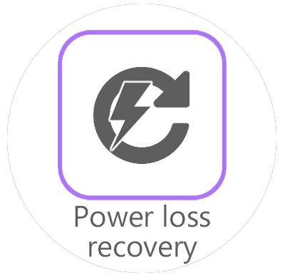 up mini 2 3d printer resume and recover midprint from powercut