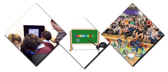 3D printers used in education setting tinkercad, stirling engine at the university of canterbury