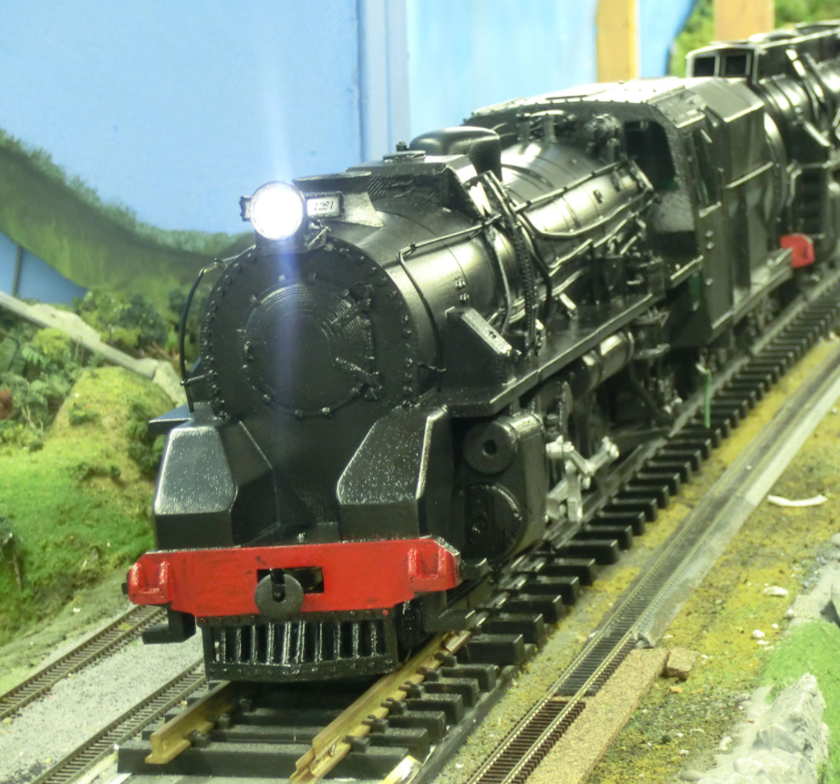 front view of 3d printed train – 3D Printing New Zealand
