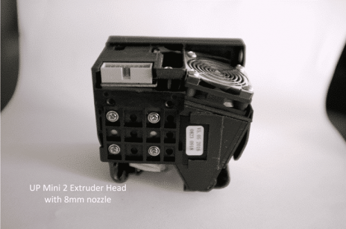 Extruder Head for UP 3D Printer