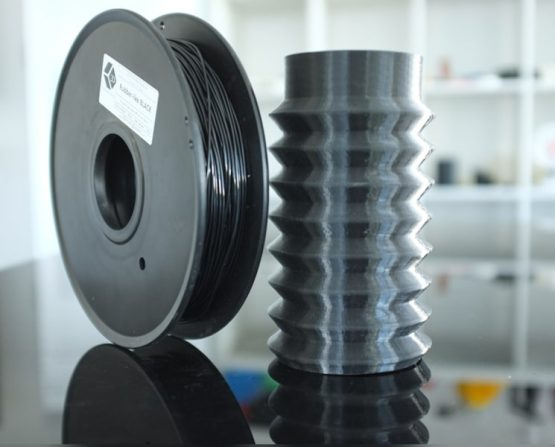 Flexible Elastic Rubber-like Black Filament 500g (EXPERIMENTAL)