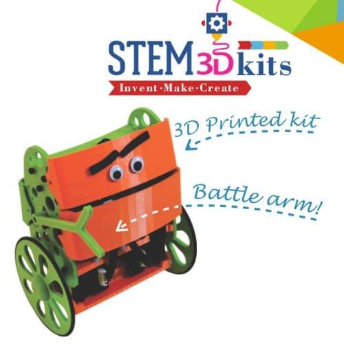STEM3Dkits - Balance-Bot